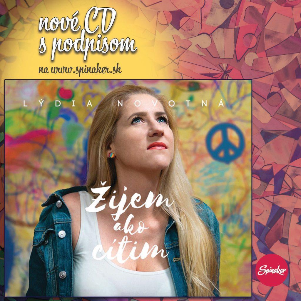 Lydia Novotna Zijem ako citim CD album
